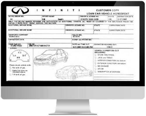 Dealership Service Loaner Software By Rent Centric On Demand